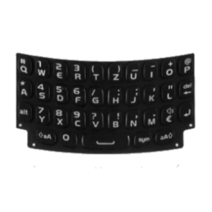 clavier QWERTY BlackBerry curve 9360