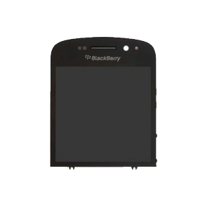 Bloc LCD + vitre tactile BlackBerry Q10-Blanc