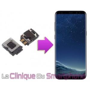 Changement Écouteurs Interne Samsung Galaxy S8+ à Lyon