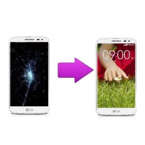 Changement LCD + tactile LG G2 Mini - D620