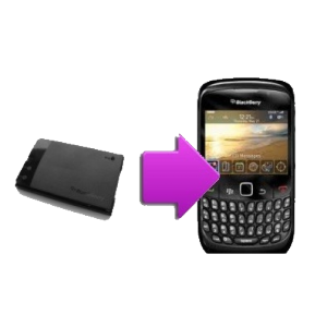 Changement batterie compatible BlackBerry Blod 9900