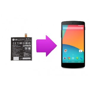Changement batterie LG Nexus 5