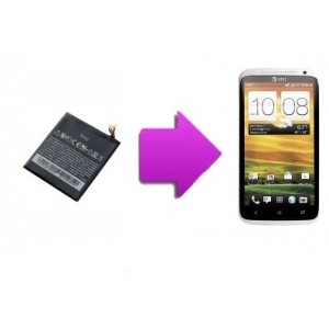 Changement batterie HTC One X / One S