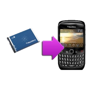 Changement batterie originale BlackBerry Bold 9900