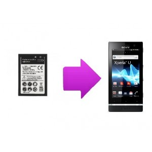 Changement batterie Sony Xperia U