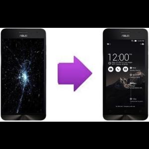 Changement LCD +  vitre tactile  ASUS Zenfone 4 - A450CG