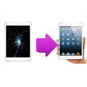 Changement Vitre tactile + écran LCD Ipad Mini