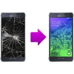 Changement LCD + vitre tactile SAMSUNG Galaxy Alpha (G850)