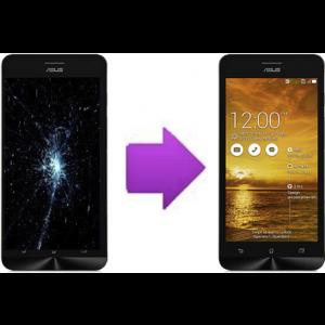 Changement LCD +  vitre tactile  ASUS Zenfone 6 - A600CG