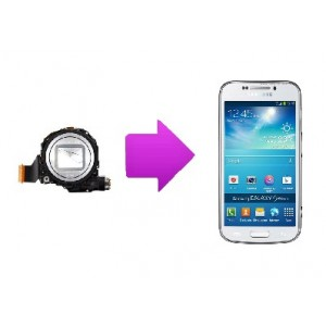 Changement Camera arriere  SAMSUNG Galaxy S4 Zoom