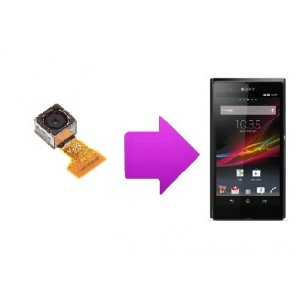 Changement camera arriere  Sony Xperia Z