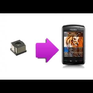 Changement caméra BlackBerry Storm 9500