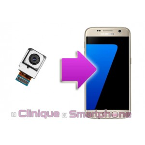 Remplacement caméra arrière Samsung Galaxy S7 Edge