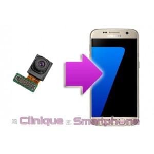 Remplacement caméra avant Samsung Galaxy S7 Edge