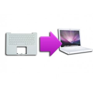 Changement clavier MacBook coque complete