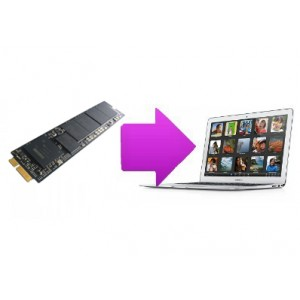 Changement SSD MacBook air