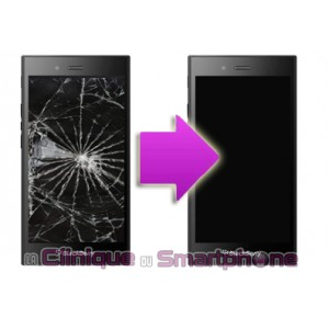 Changement bloc LCD + vitre tactile BlackBerry Z20 Leap