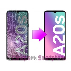 Remplacement bloc écran Samsung Galaxy A20S (A207F)