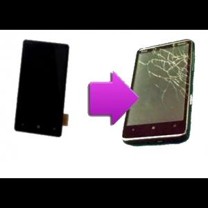 Changement LCD + vitre tactile HTC HD7
