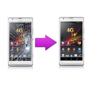 Remplacement vitre tactile Sony Xperia SP (M35H)