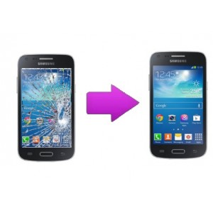 Changement vitre tactile Galaxy Core