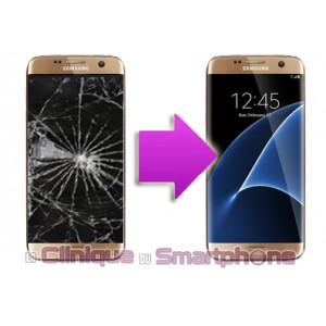 Remplacement Vitre Tactile + Ecran LCD Samsung Galaxy S7 Edge (G935F)