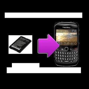 Changement batterie compatible BlackBerry Curve 8520
