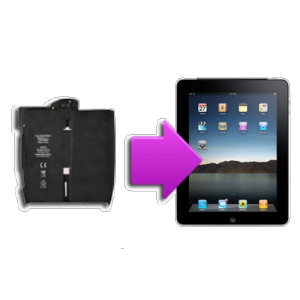 Changement batterie iPad 1
