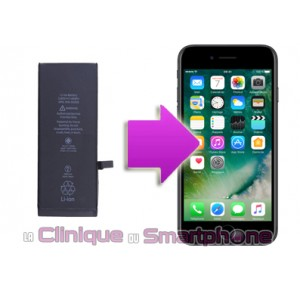 Remplacement batterie iPhone 7 Plus