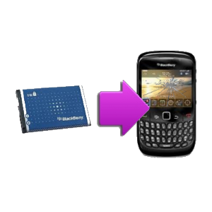 Changement batterie originale BlackBerry Curve 8520