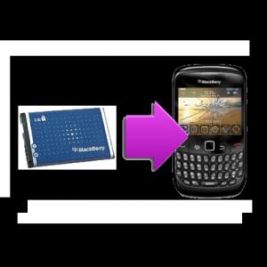 Changement batterie originale BlackBerry Curve 8520