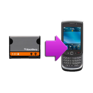 Changement batterie originale BlackBerry torch 9800