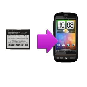 Changement batterie originale HTC Desire - G7