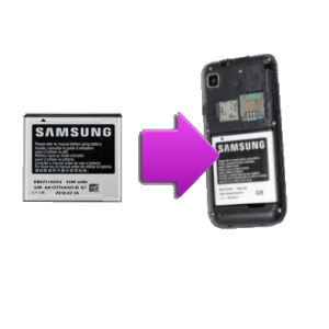 Changement batterie originale SAMSUNG Galaxy S - i9000