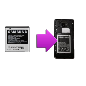 Changement batterie originale SAMSUNG Galaxy S2 - i9100