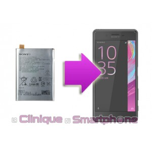 Remplacement batterie Sony Xperia X Performence