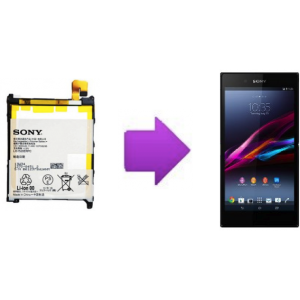 Changement batterie Sony Xperia Z Ultra