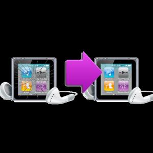 Changement bloc ecran  Ipod Nano 6