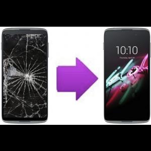 """Remplacement Vitre Tactile + LCD Alcatel Idol 3 4,7"""" / 5,5"""" à partir de:"""