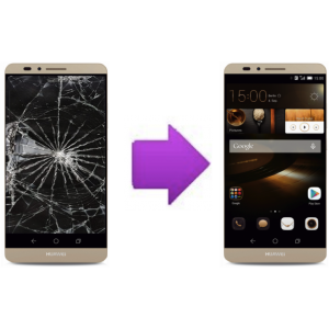 Changement LCD +  vitre tactile  HUAWEI Ascend mate 7