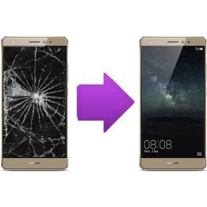 Changement Vitre Tactile + LCD Huawei Ascend Mate S