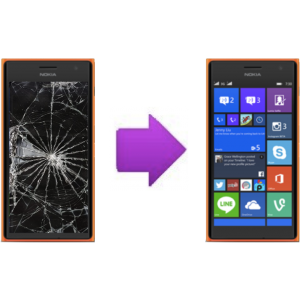 Changement Vitre tactile + LCD NOKIA Lumia 730 / 735