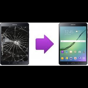 Changement Vitre Tactile + LCD Samsung Galaxy Tab A à partir de: