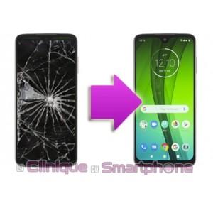 Remplacement Vitre Tactile + Ecran LCD Motorola G7