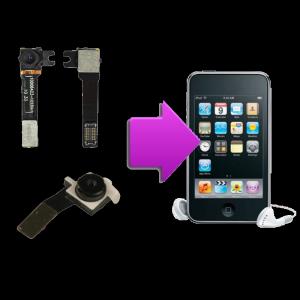 Changement caméra iPod V4