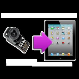 Changement caméra arrière iPad 2