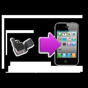 Changement camera arrière iphone 4