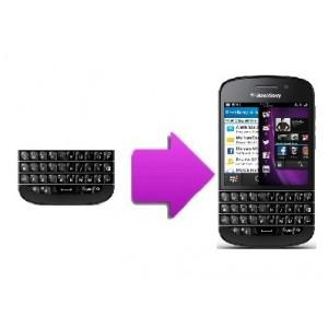 Changement clavier BlackBerry Q10