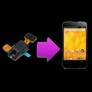Changement prise  jack  Nexus 4