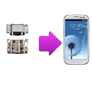 Changement  connecteur de charge  SAMSUNG Galaxy S3 - I9300